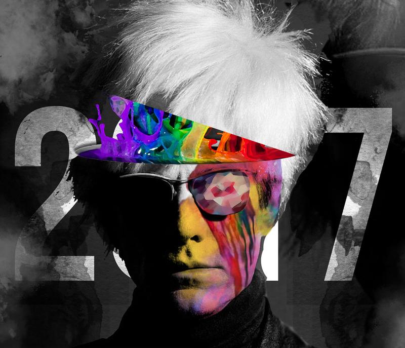 District art show poster 2017.