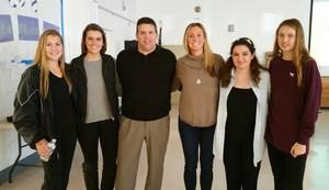 Dennis Township graduates with Principals.jpg