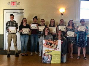 TKHS students won 13 of the 17 major awards in the county write away contest.