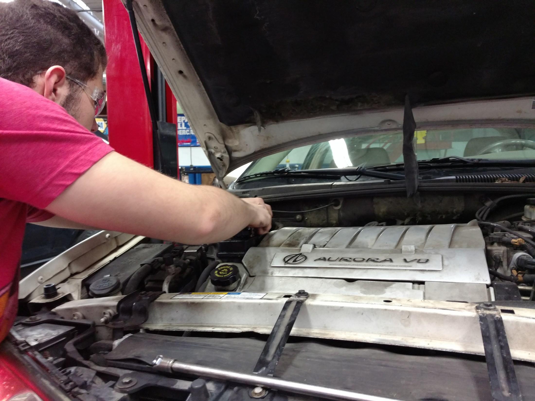 Looking for the power steering leak