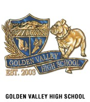 Golden Valley High School Logo