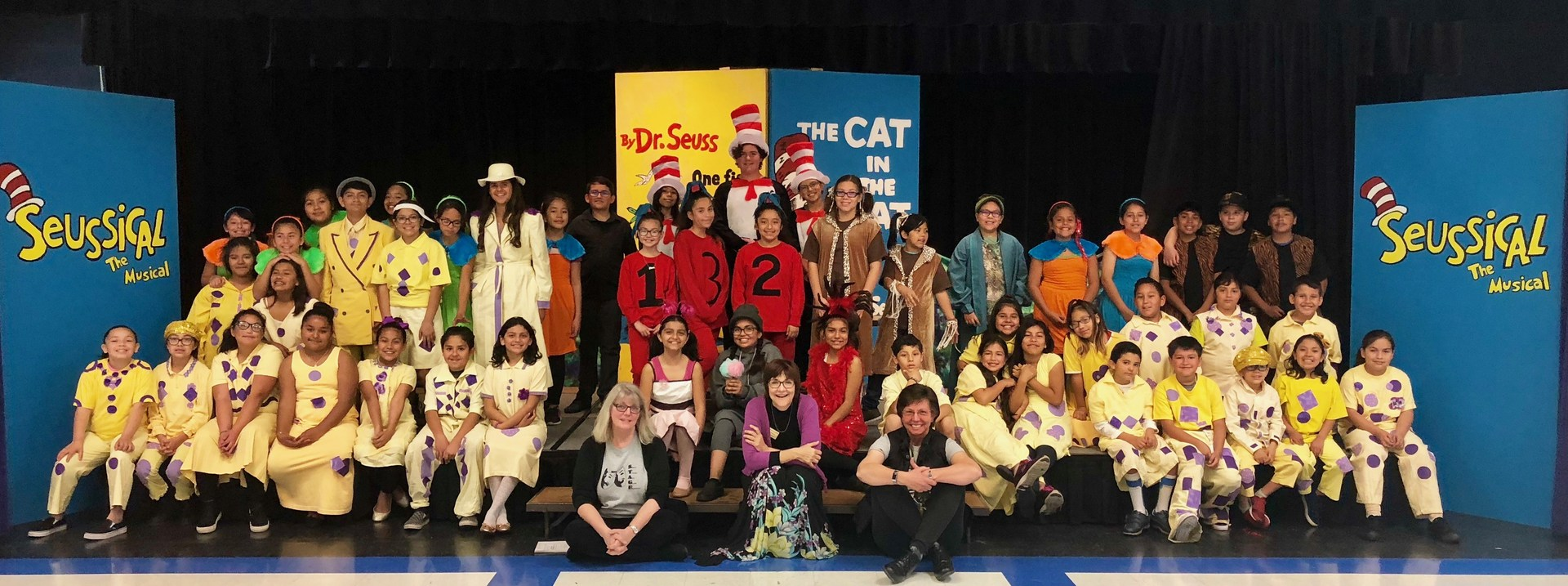 The cast of Seussical the Musical.