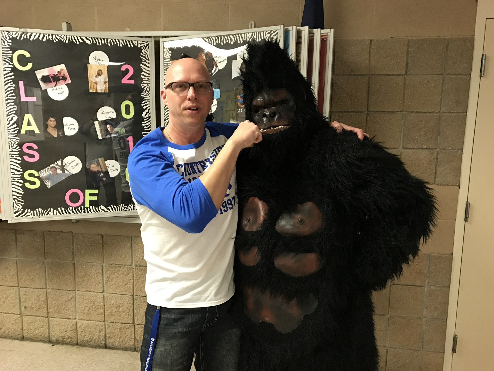 Staff with Gorilla