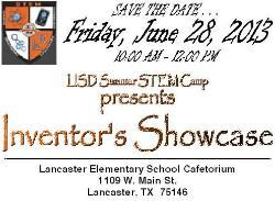 LES Summer STEM Camp - Inventor_s Showcase STD _2013_.jpg