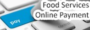 make online payment to food services