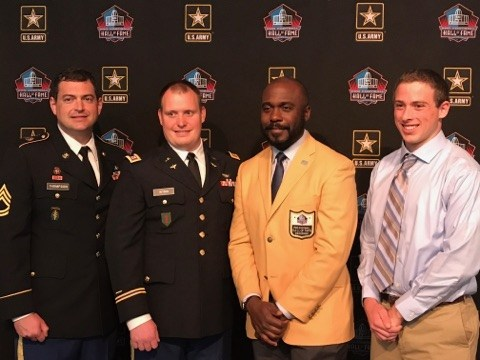 NFL Legend Honors BHS Student Thumbnail Image