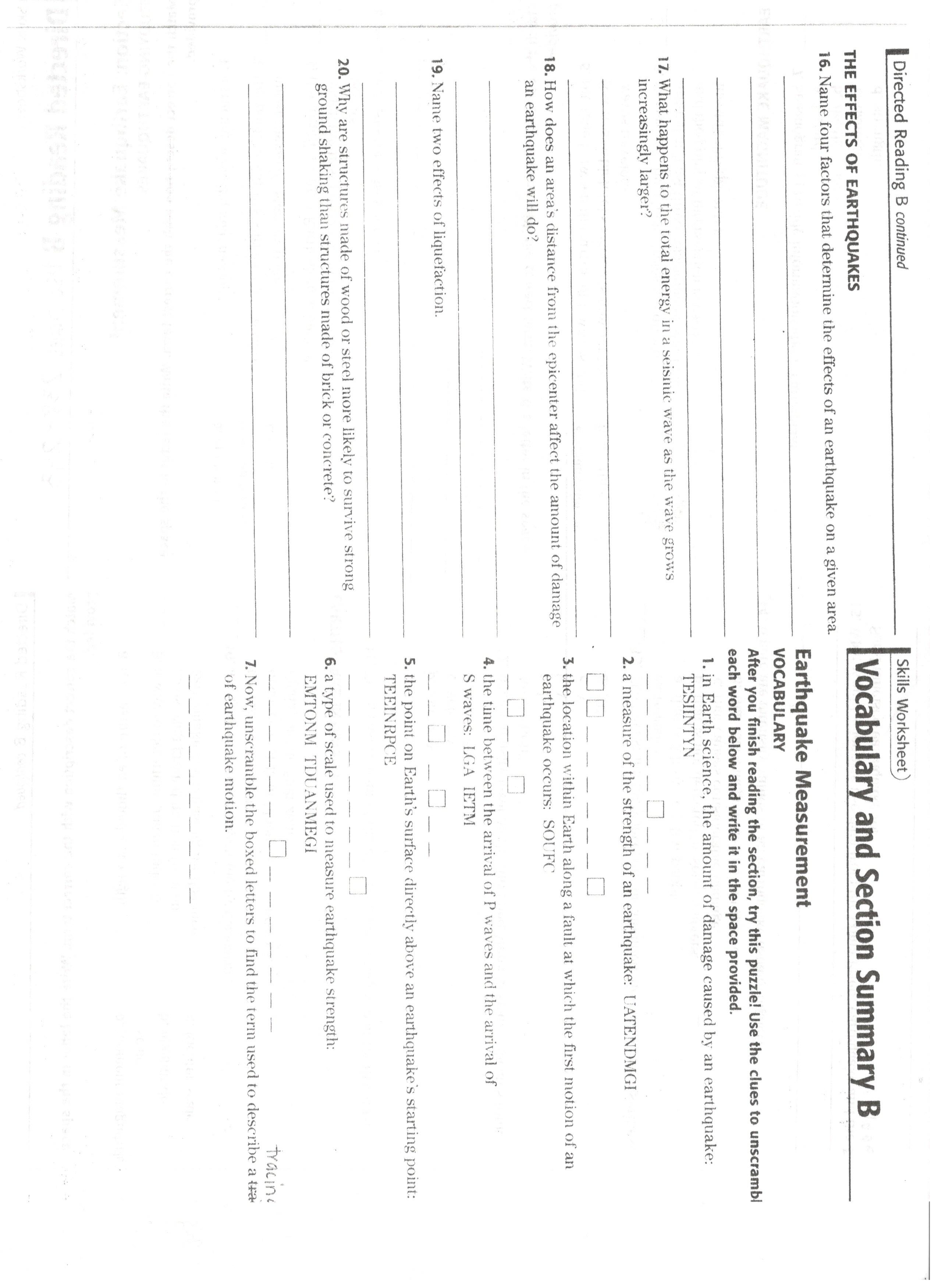 worksheet Find The Epicenter Worksheet marina del rey middle school study guide jpeg studyguide2 jpeg