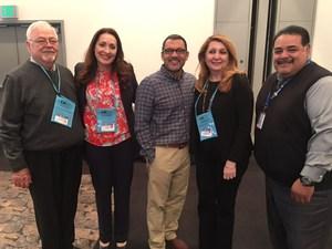 Dr. Vladovic, Hilda Maldonado, Luis Montoya, Vivian Ekchian, Pedro Garcia at CABE 2018
