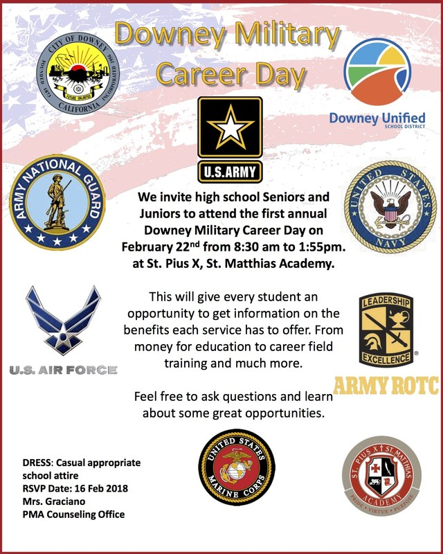 DOWNEY MILITARY CAREER DAY Thumbnail Image