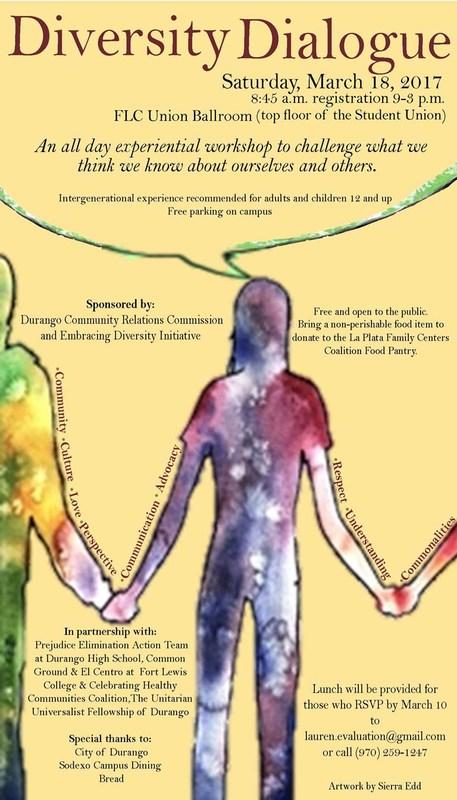 PEAT Diversity Dialogue poster.