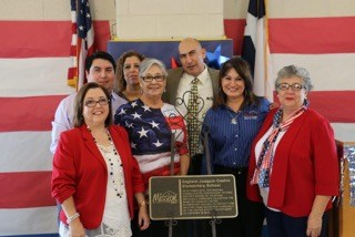 Plaque unveiling for renaming of Castro Elementary School