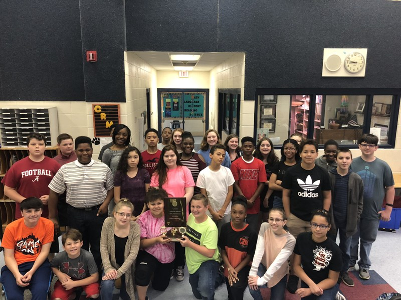 Cedar Ridge Middle School Band Performs Well at State Music Performance Assessment for Band Featured Photo