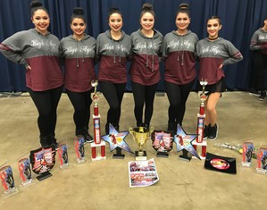 High Flyer officers with their awards