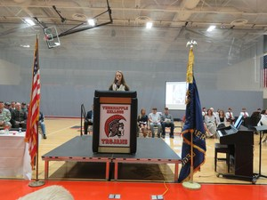 TKHS hosts annual veterans day community event.