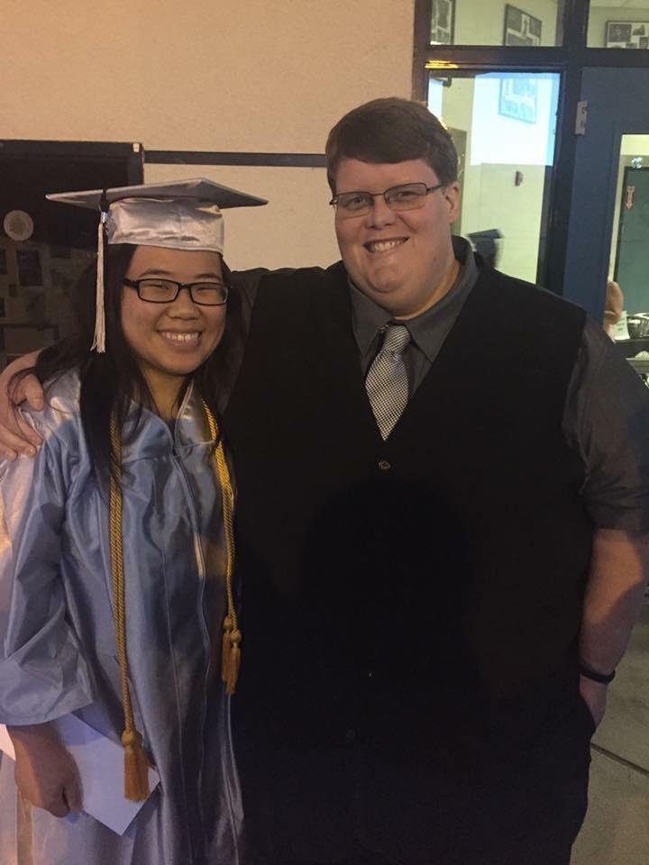 Jordan Shih proving her academic excellence