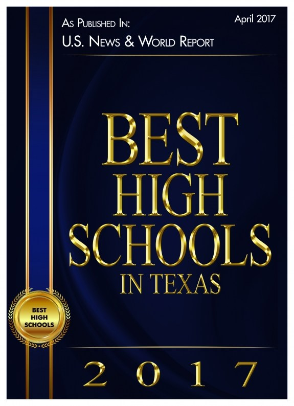 US News & World Report Best High School in Texas Graphic