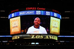 The Los Angeles Lakers highlighted North Park High School Principal H. Vincent Pratt on Jan. 17 as an Educator of the Month.