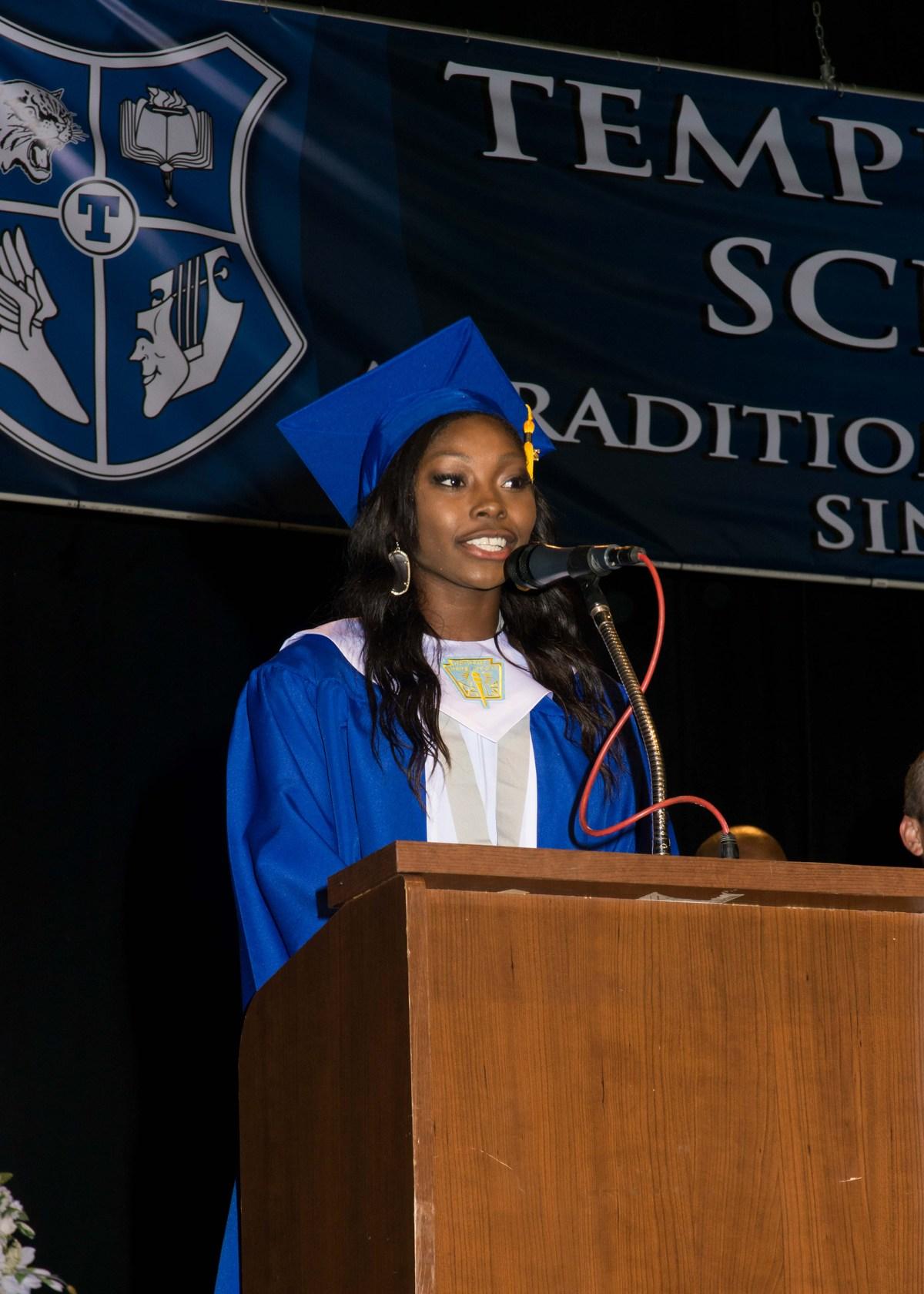 Temple Graduation 2020.Commencement Photos Class Of 2020 Temple High School