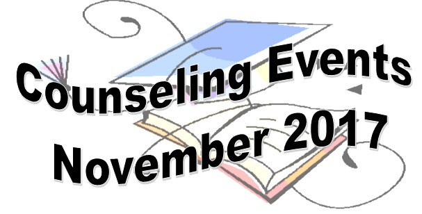 Counseling Events - November 2017 Thumbnail Image
