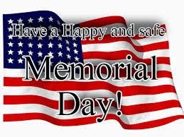 American Flag- Happy Memorial Day