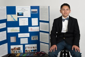 Emilio Chavez competed at the California State Science Fair in April.