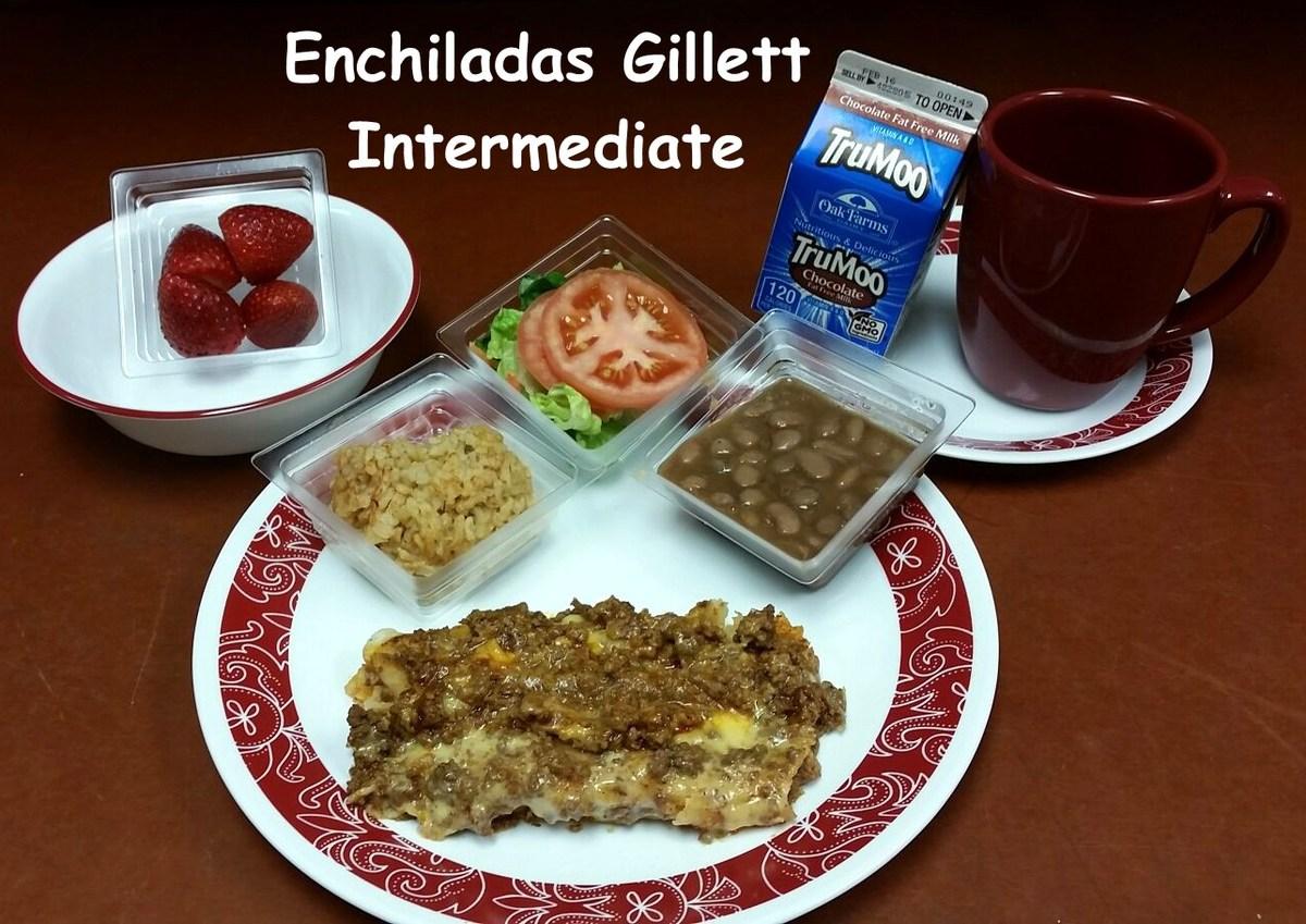 Image of Enchiladas Gillett Intermediate