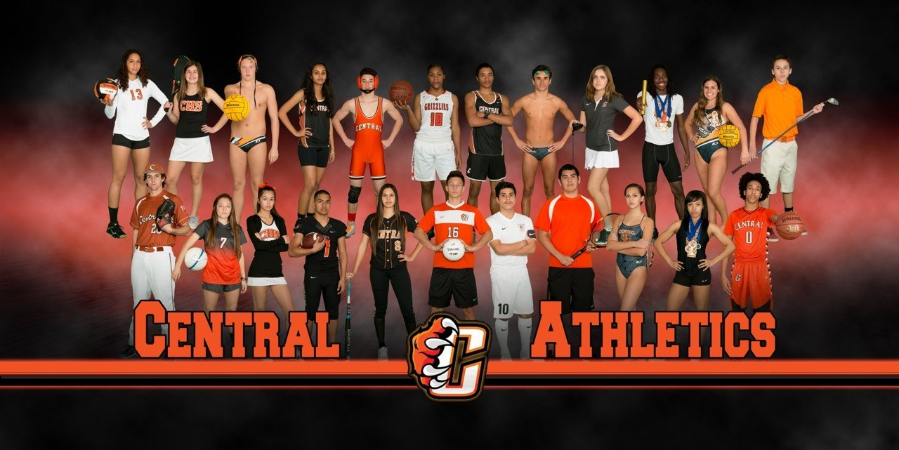 Central High Athletes group photo
