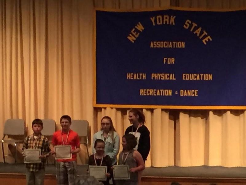Larries win Physical Education Student Leadership Award Thumbnail Image