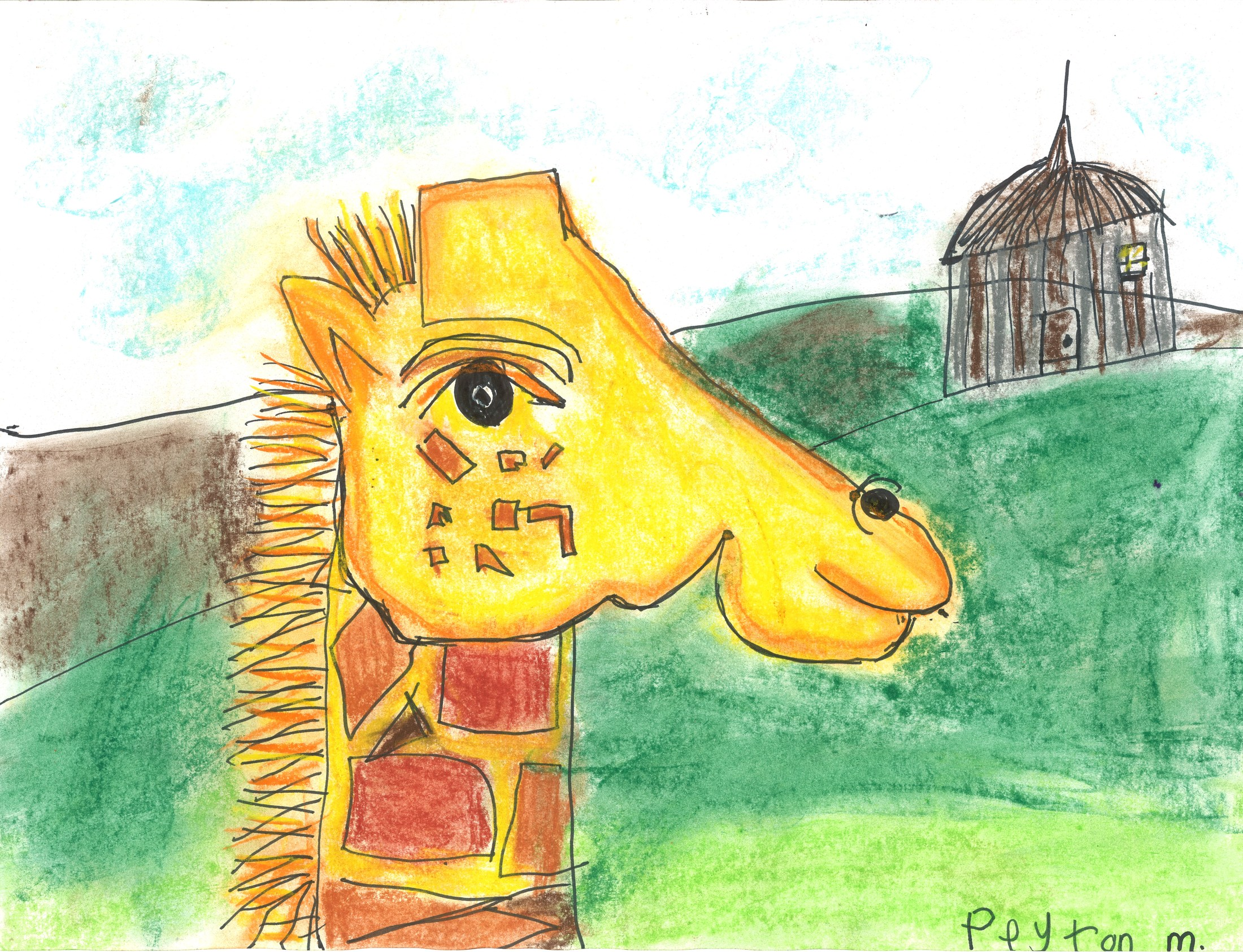 1st Grader Giraffe