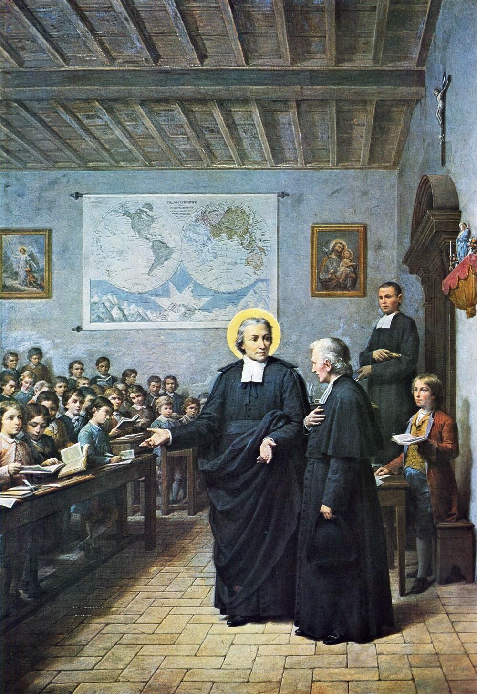 ST JOHN BAPTIST DE LA SALLE IN THE CLASSROOM