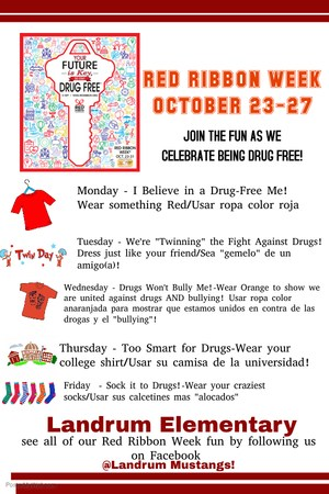 Red Ribbon Week Landrum