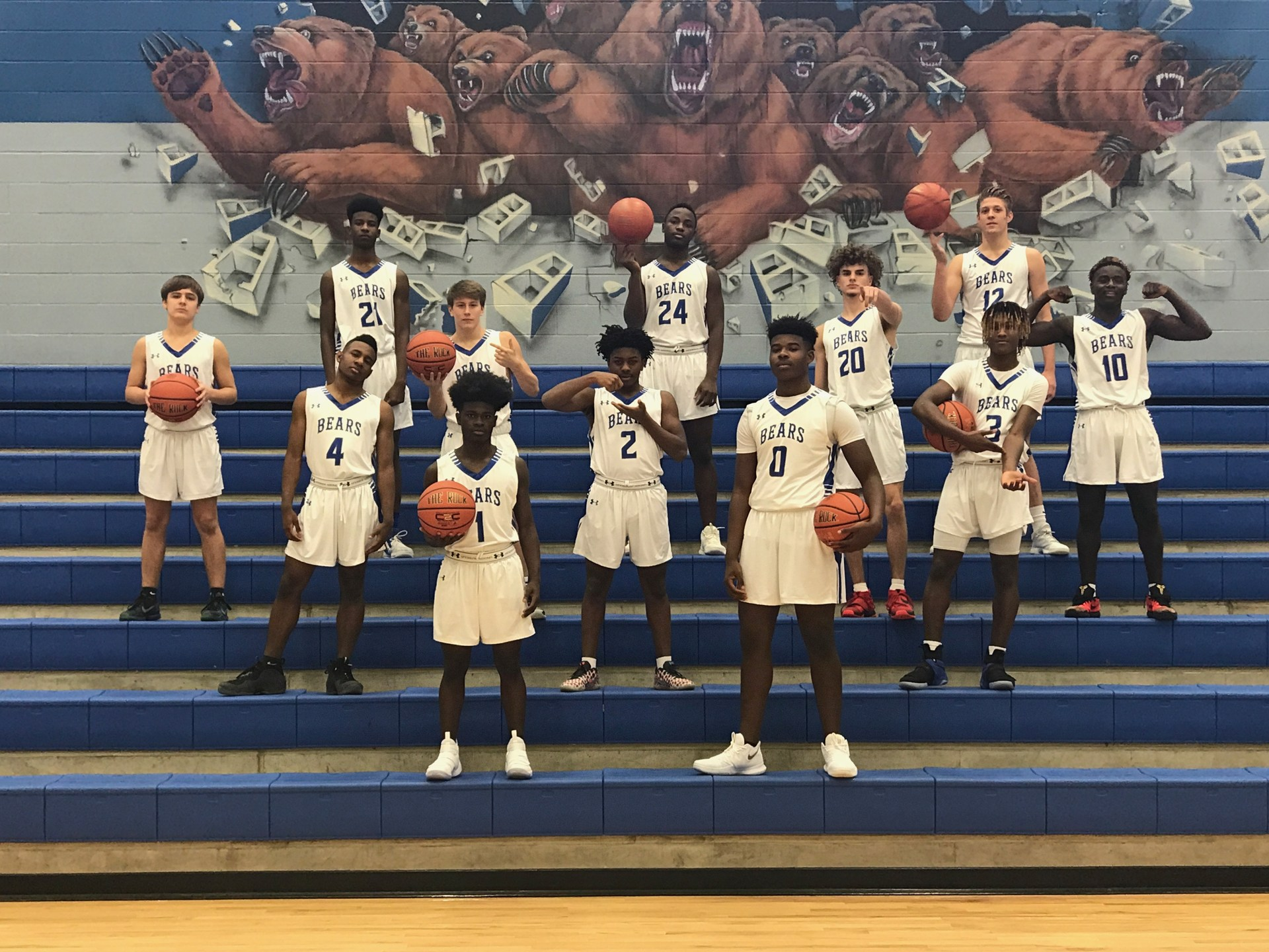 Bears  Varsity Basketball Team