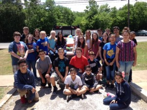 NJHS at Animal Shelter