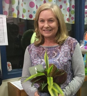 Rebecca Shuford, OFE Teacher of the Year.