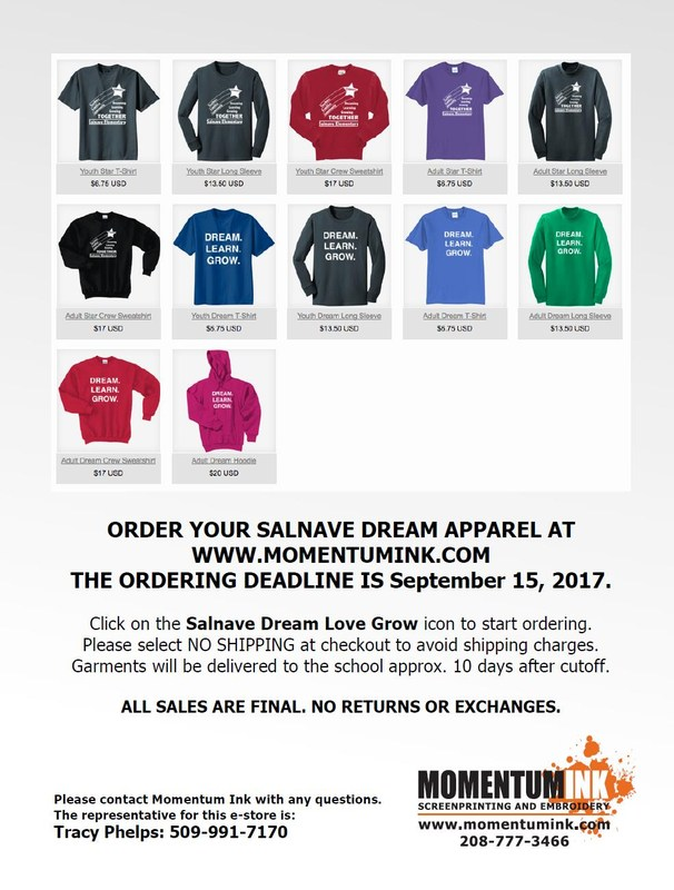 Dream Learn Grow shirts for ALL! Thumbnail Image