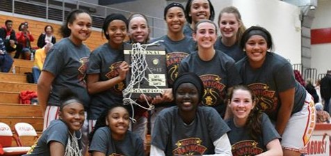 Lady Rocks Basketball Regional Champions! Featured Photo
