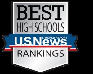 U.S. News Best High Schools Rankings logo
