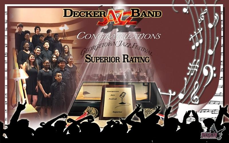 Congratulations Decker Jazz Band Thumbnail Image