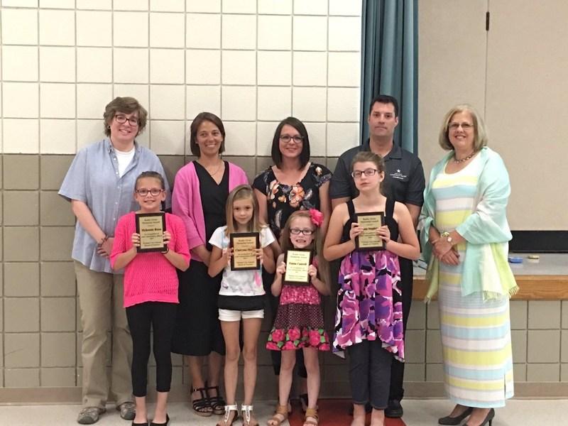 Kathy Swan Award winners.
