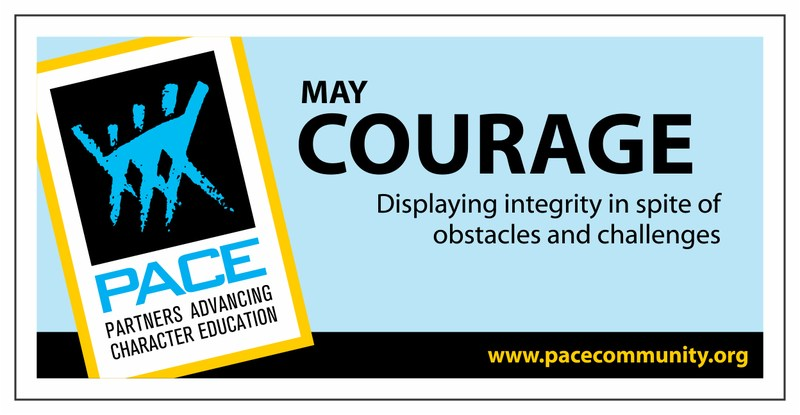 Pace Character Trait May - Courage Thumbnail Image
