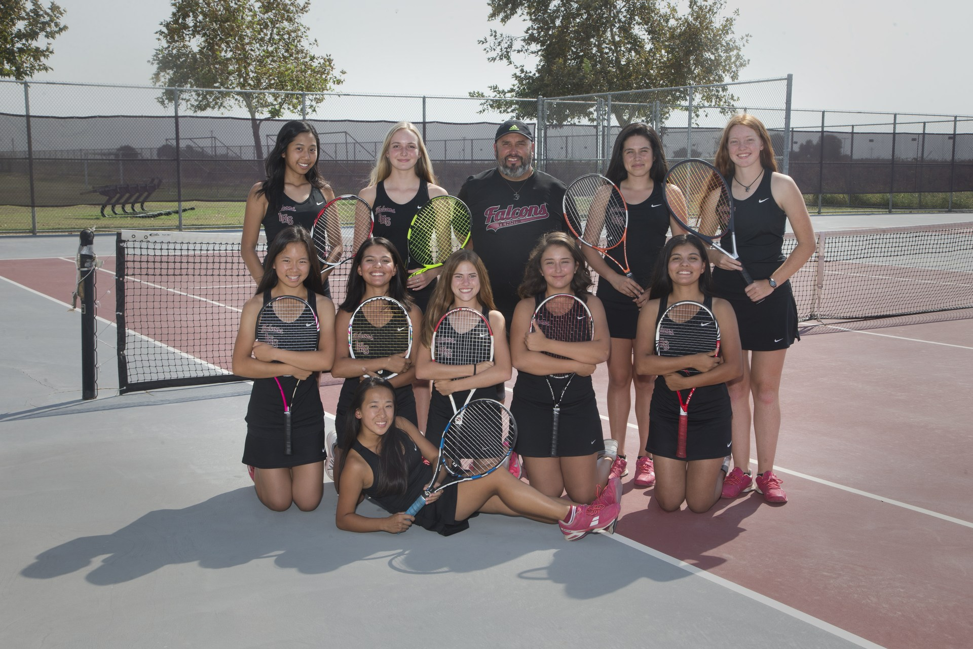 varsity girls tennis 2017