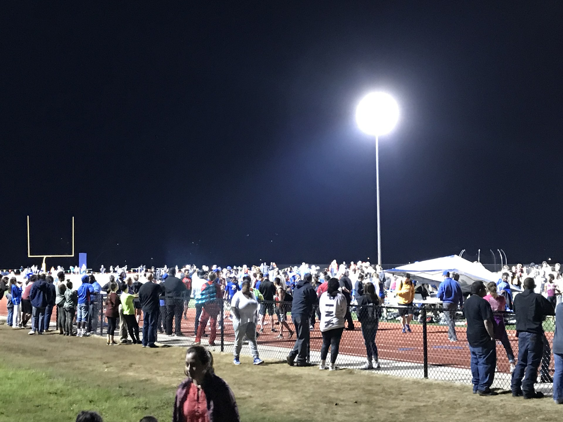 track meet at cook field