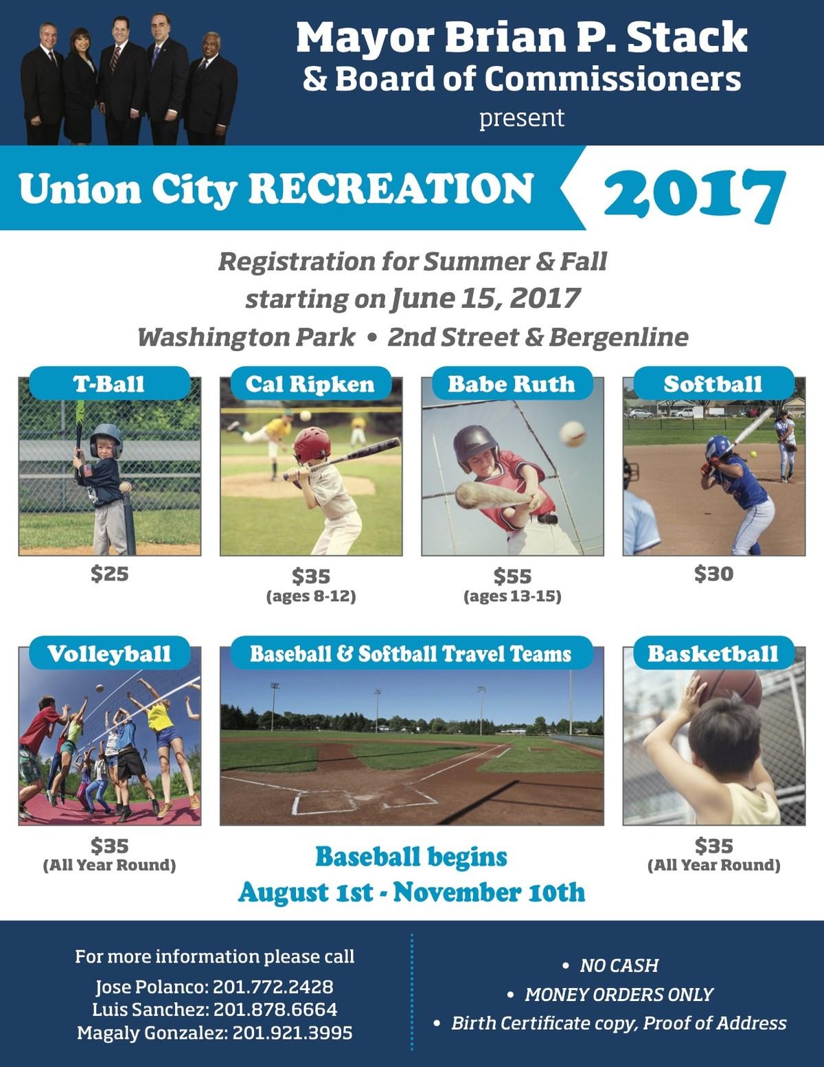 summer - fall recreation application