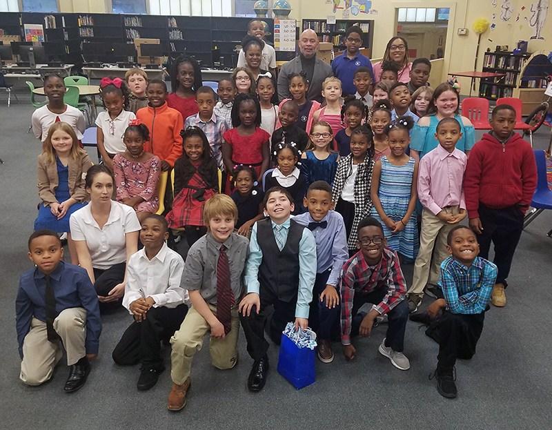 Natchez Mayor Darryl Grennell visits 3rd Graders at McLaurin Thumbnail Image