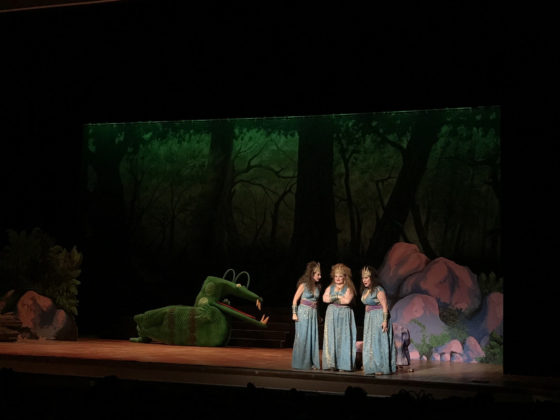 Photo of Park Ridge Students' field trip to see Mozart's Opera, The Magic Flute