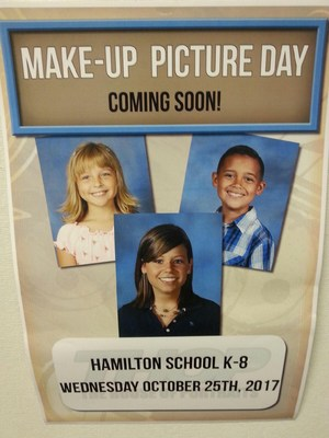 Make-Up Picture Day Poster
