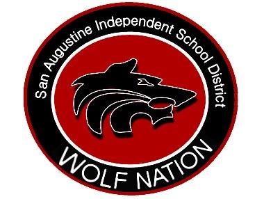 San Augustine Wolf Nation Logo