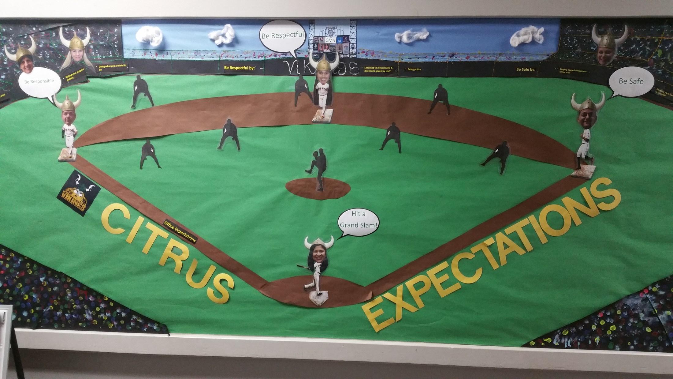 Citrus Expectations- Baseball Diamond Format