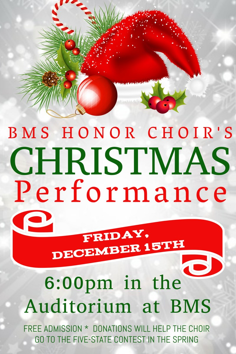 BMS Honor Choir to Perform Thumbnail Image