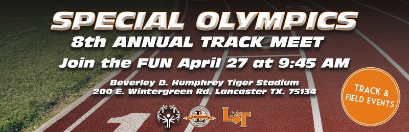 Lancaster ISD to Host Its 8th Annual Special Olympics Track and Field Meet Thumbnail Image